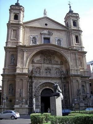 La Iglesia de Santa Engracia en Zaragoza