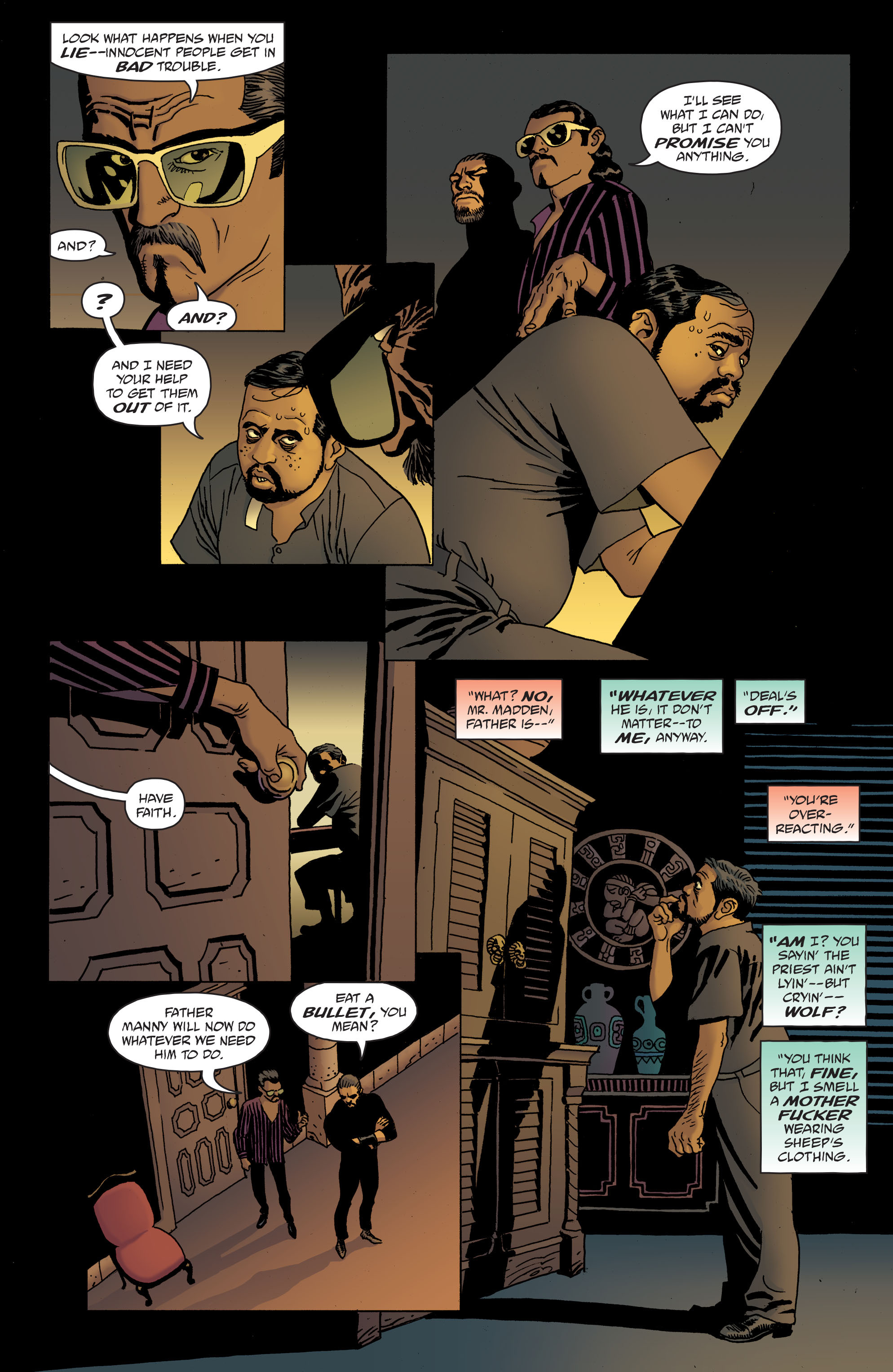 100 Bullets: Brother Lono Full Page 150