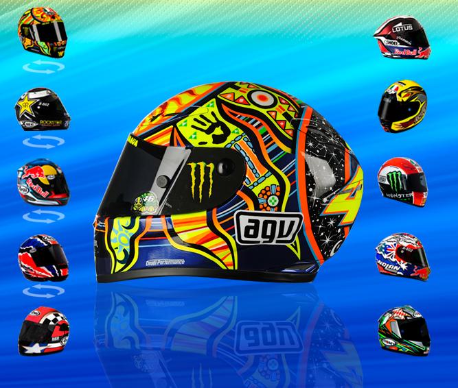 miniaturasconry43 los mejores cascos de motogp altaya