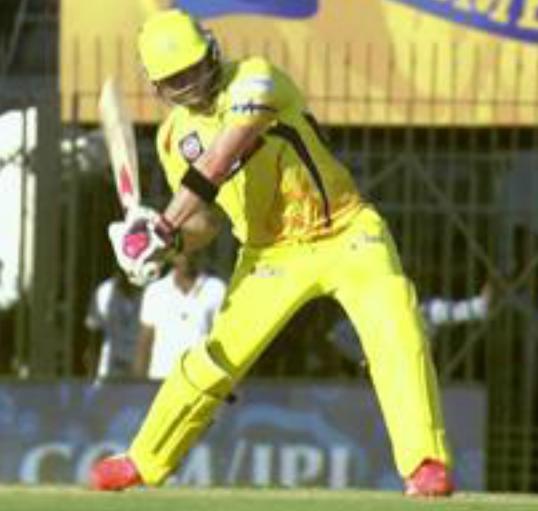 BMcCullum hits century batting image