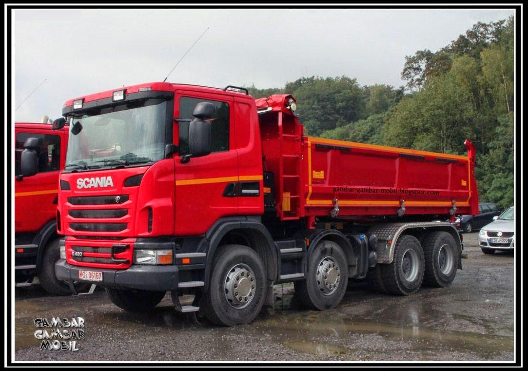 foto mobil truk scania