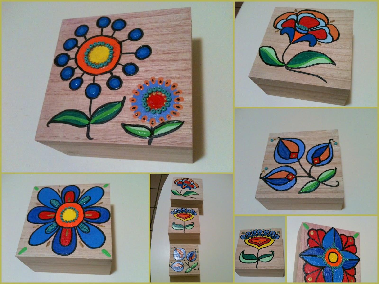 Artesanatos da Lucia Giraffa: Caixas de madeira com pintura em  #103C7F 1600x1200