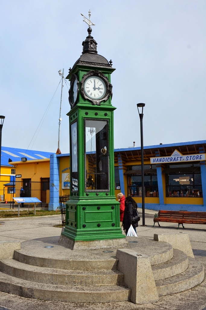 Punta Arenas Chile clock