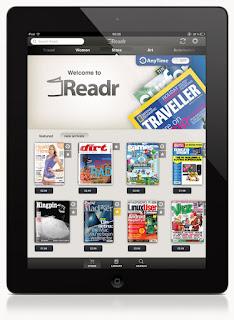 Innovación, iPad, Readr, Tecnología,