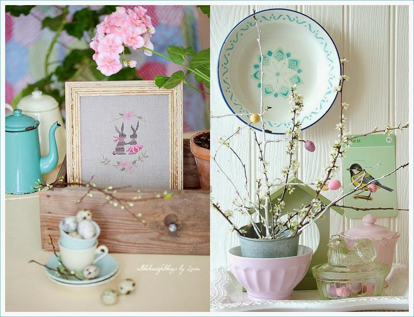 Abc amo le belle cose - Decorazioni pasquali fai da te ...