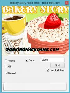 Bakery Story Hack v35 Android/iOS wwwHacksWorkcom