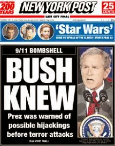 "Reports  ""W"" Had Foreknowledge of bin Laden Intent"