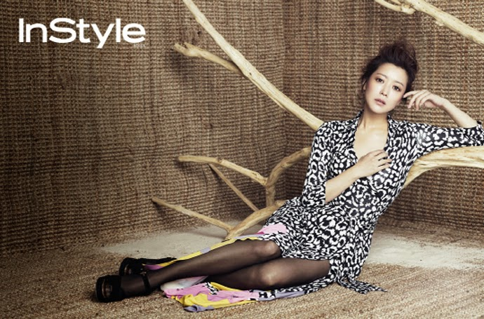 Kim Hee Sun - InStyle Magazine March Issue 2014