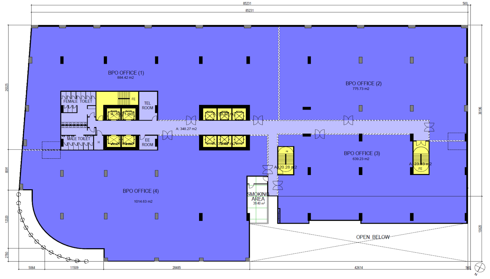100 West @ Makati Floor Plans