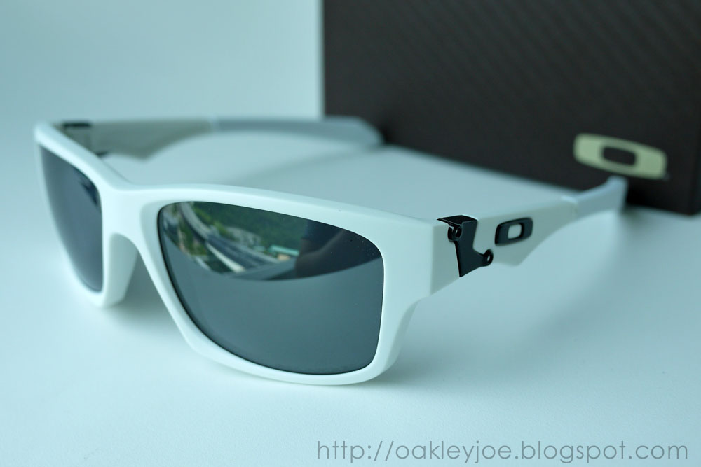 496cebcd2c Oakley Jupiter Squared Matte White Black Iridium Polarized ...