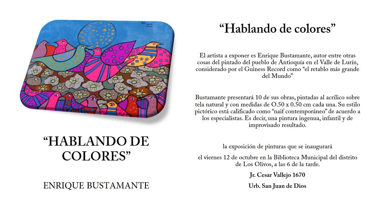 HABLANDO DE COLORES