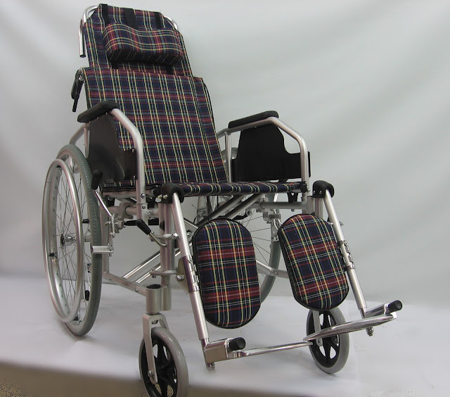 Kerusi Roda Ringan 可坐臥轻型轮椅 Lightweight Reclining wheelchair