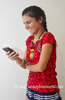 girl mobile