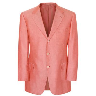 brioni coral pink jacket