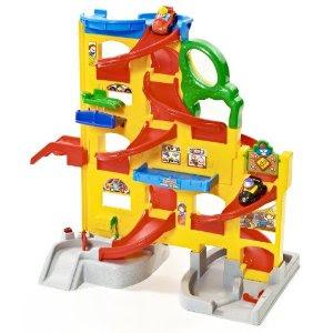 Pre-kindergarten toys - People Wheelies Stand 'n Play Rampway (X4195)