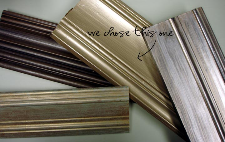 Pictures Of Metallic Wood Paint