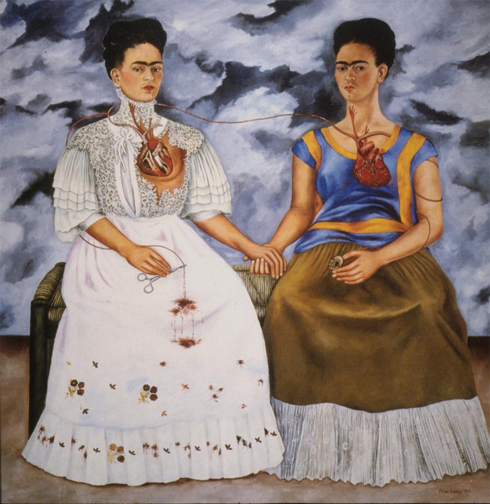 las dos fridas the two fridas Frida kahlo_the two fridas (las dos fridas) by webmaster sharing is caring 0  tweet 0 share 0 share 0 pin 0 mail 0 share.