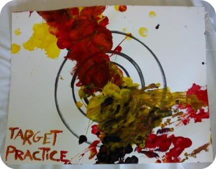 target practice sheets. target practice sheets.