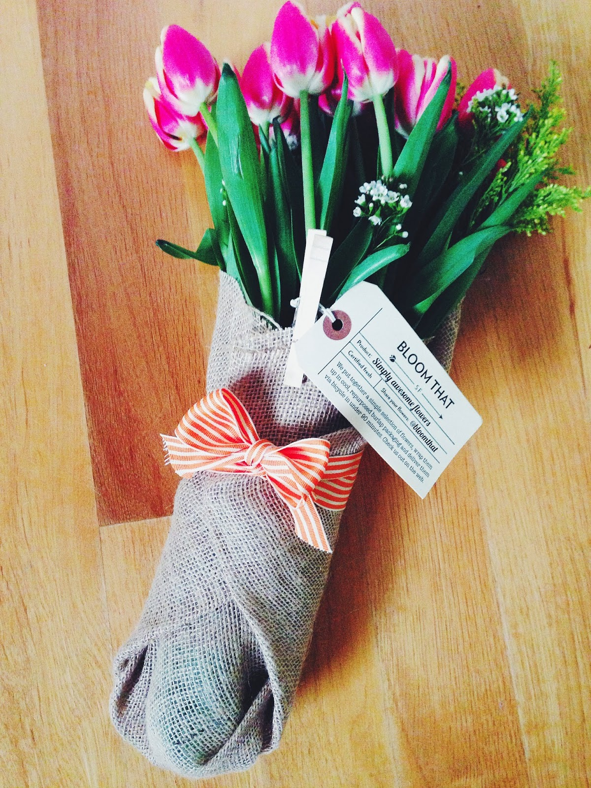 Savvy in San Francisco BloomThat Flower Delivery Service