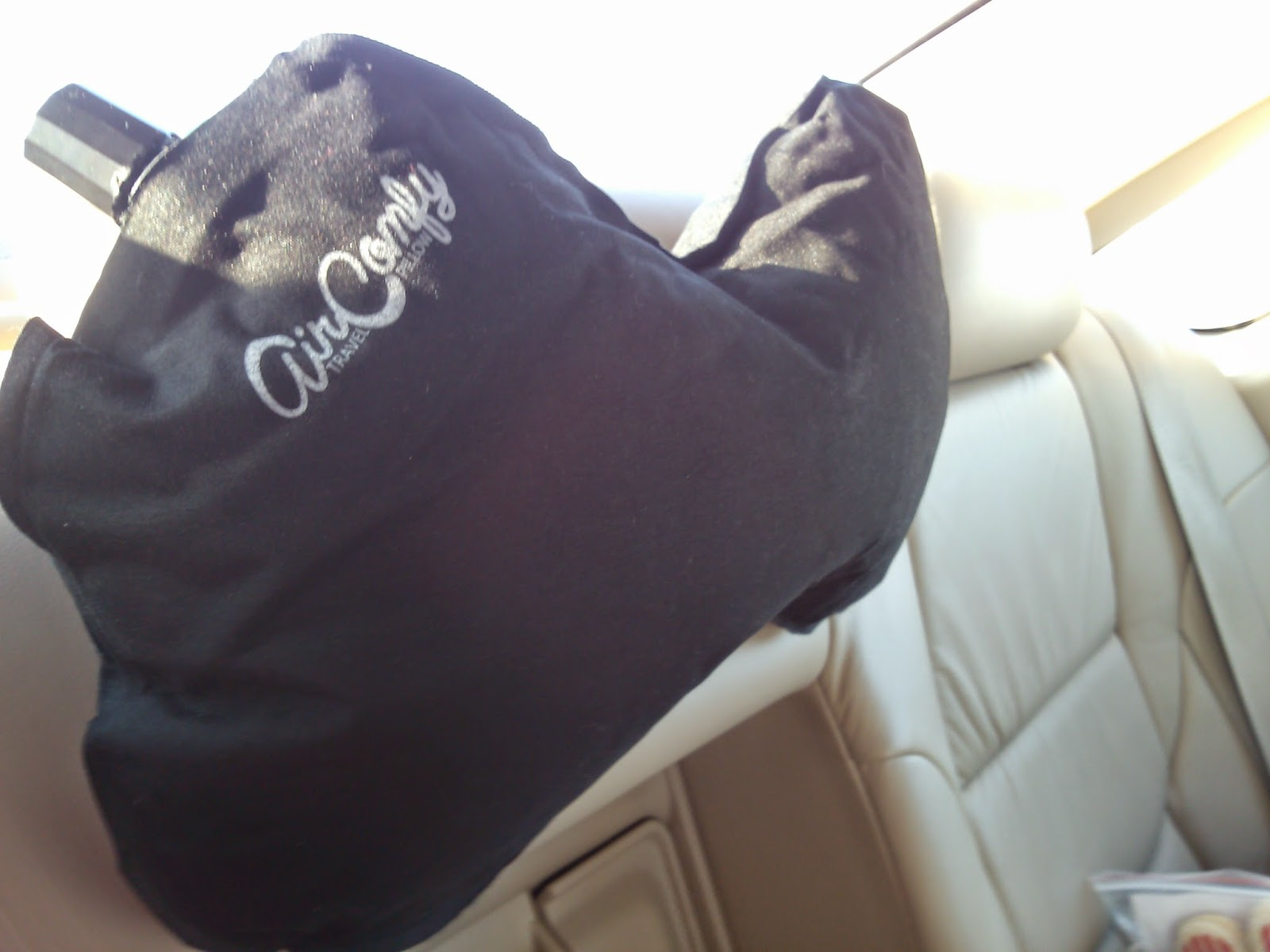 AirComfy Travel Pillow Review