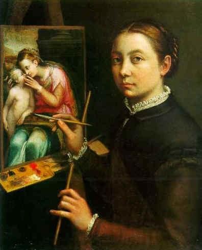 Sofonisba Anguissola resimleri