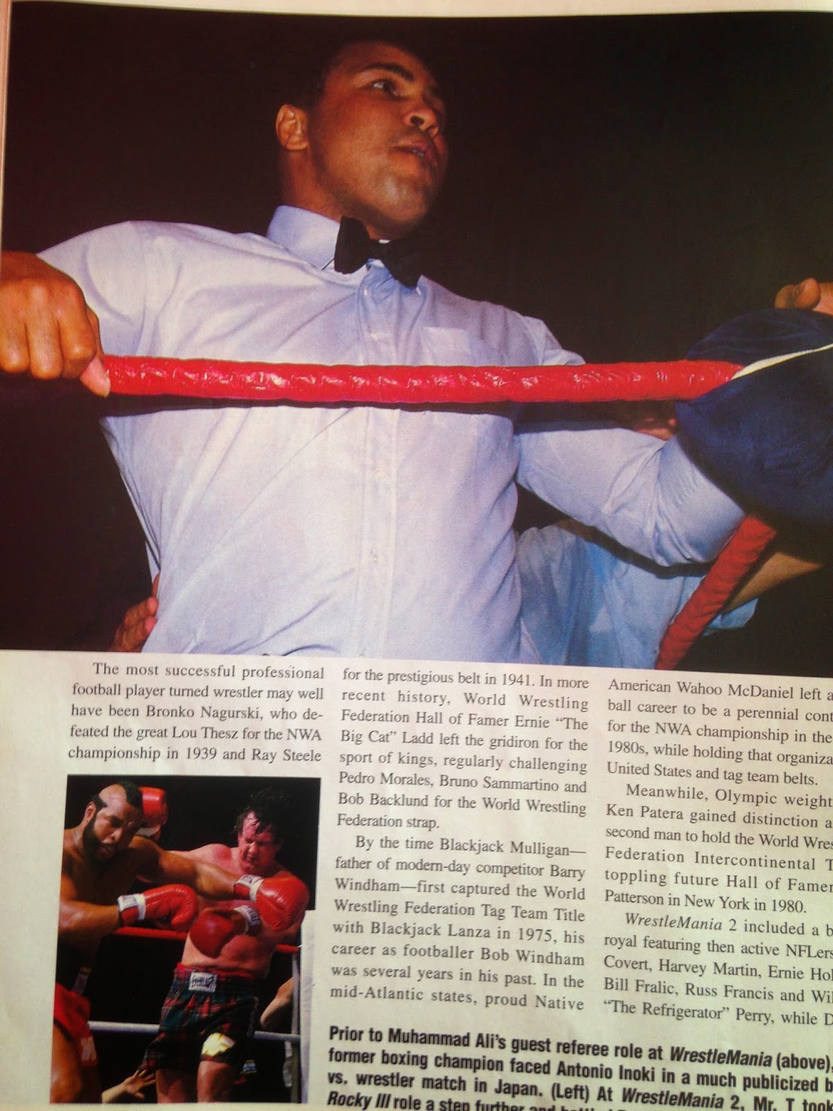 WWE - WWF Raw Magazine - April 1998 -   Muhammad Ali