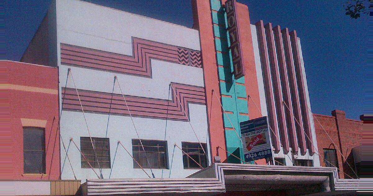 Sydney Art Deco Heritage Theatre Royal Newcastle