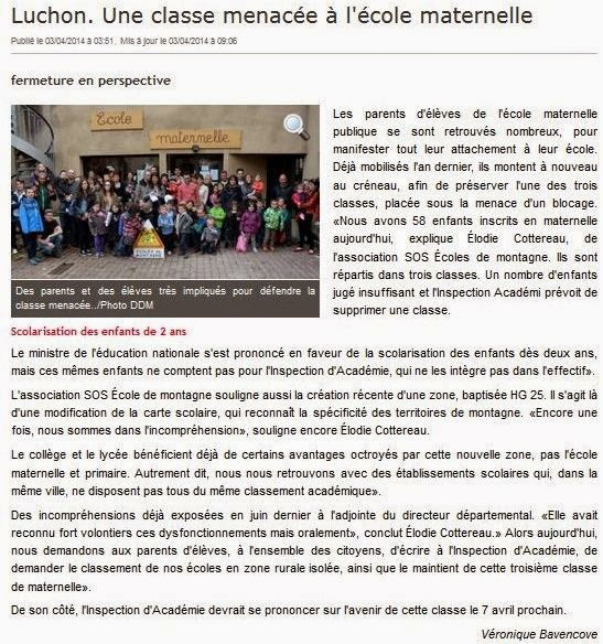 http://www.ladepeche.fr/article/2014/04/03/1854950-une-classe-menacee-a-l-ecole-maternelle.html