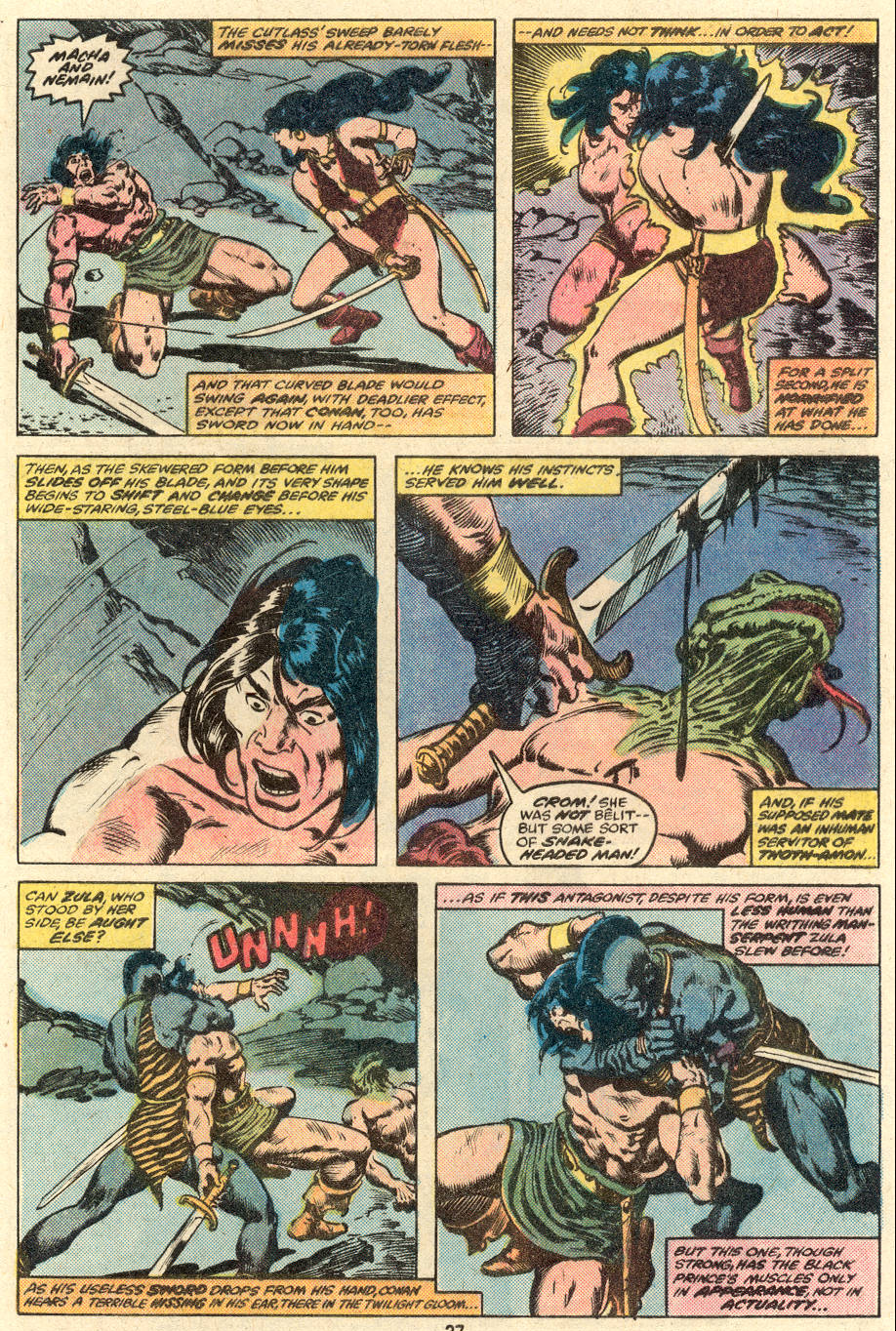 Conan the Barbarian (1970) Issue #89 #101 - English 15