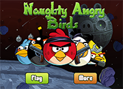 Naughty Angry Birds Space