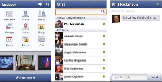 Tampilan Aplikasi Facebook Untuk HP Android Gratis Terbaru