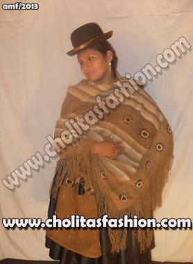 Cholitas Modelos en Mantas de Vicuña: