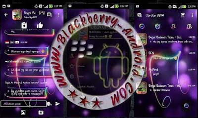 BBM MOD THEMES FULL NEON MUSIC TERBARU V2.9.0.45 APK