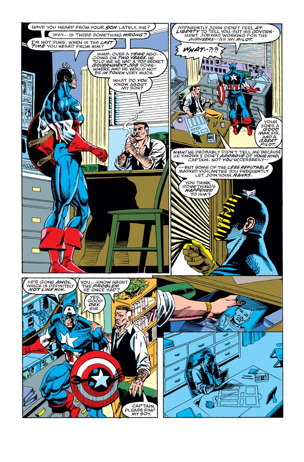 Captain America (1968) Issue #402 #351 - English 10