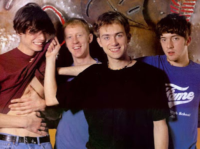 youngblur, blur young, young damon albarn, blur