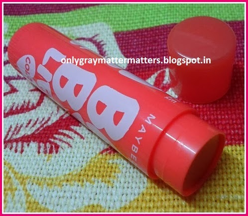 New Maybelline Baby Lips Bright Collection Tangerine Pop review price swatch