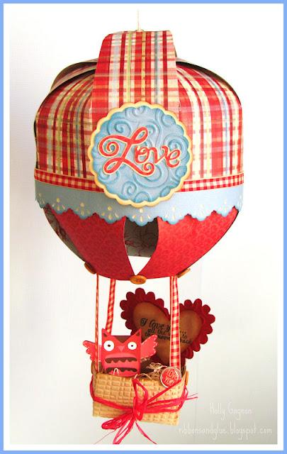 Valentines Hot Air Balloon