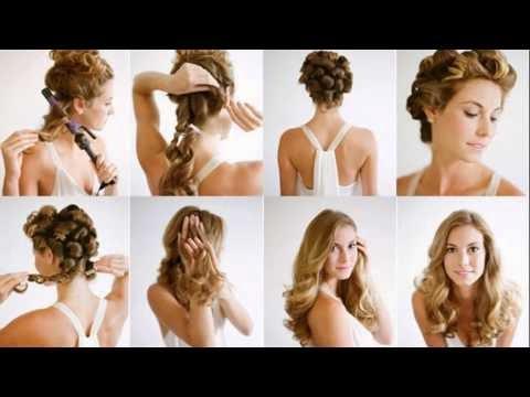 Model Rambut Keriting Gantung