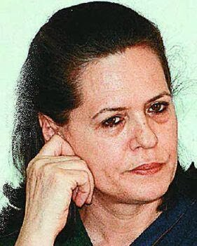 Sonia Gandhi also known as Italian bar Girl in India