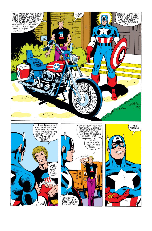 Captain America (1968) Issue #259 #174 - English 22
