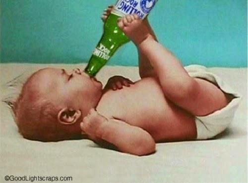 Photo bébé insolite