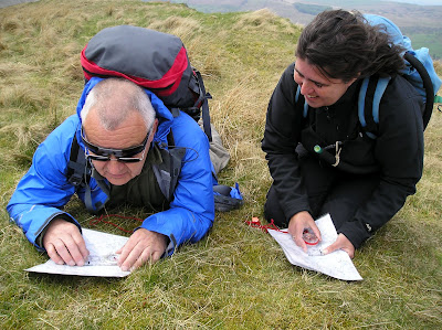 Learn to navigate on a Kendal Mountaineering Services Map Reading Course