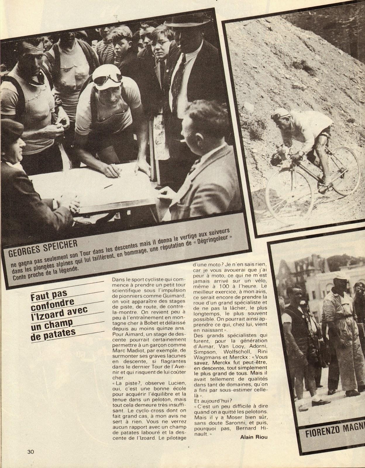 Cycling passions 67th tour de france 1980 for Miroir du ciclisme