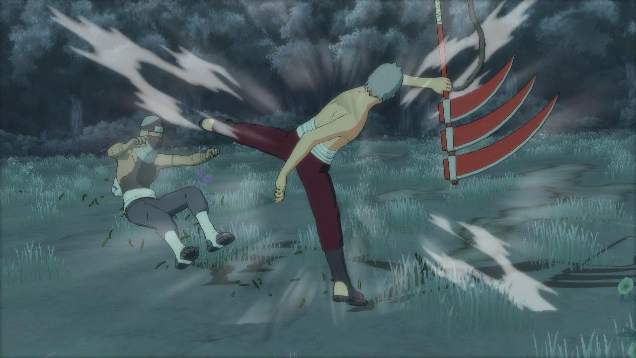 Hidan vs Kakuzu Akatsuki Origins