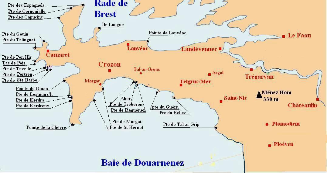 Anneclairebcn camaret sur mer et la pointe de pen hir - Office du tourisme de camaret sur mer ...