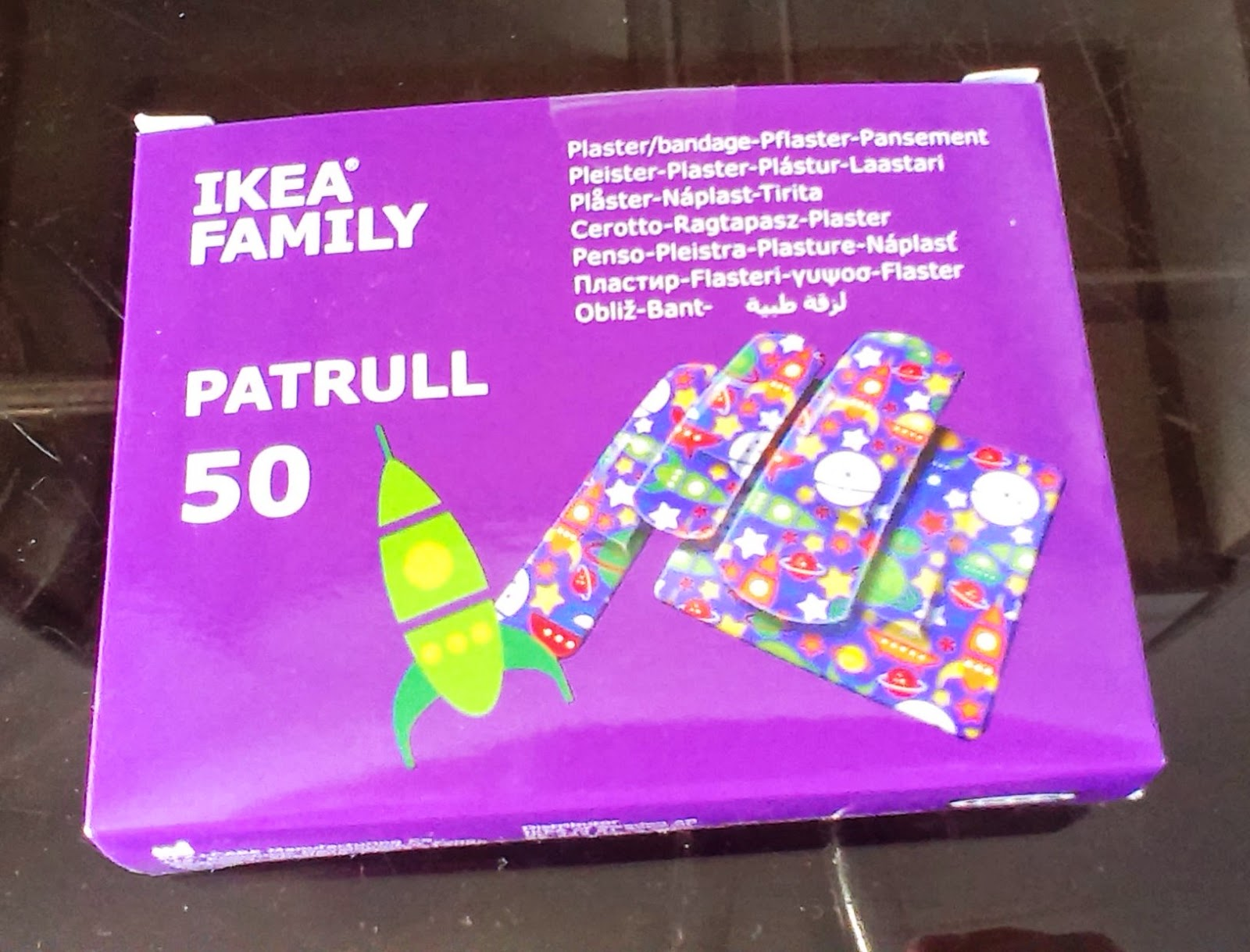 Ikea amazing plasters