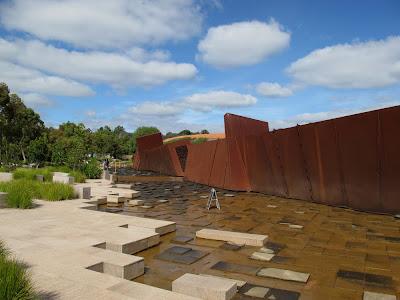Corten Steel wall