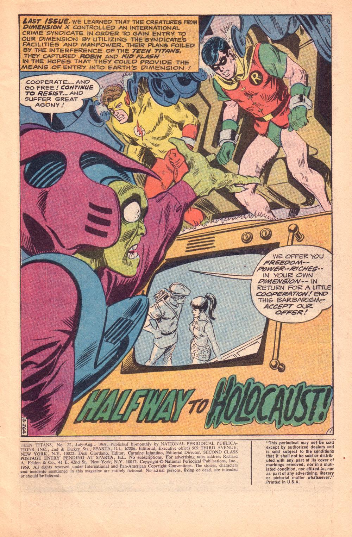 Teen Titans #22: