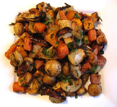 Oven-Roasted Winter Vegetables | Lisa's Kitchen ...