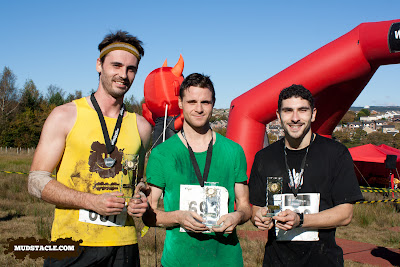 Demon Run Wales 2012 top three